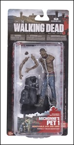 The Walking Dead Series 3 Action Figures - Michonne's Pet Zombie 1