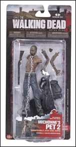 The Walking Dead Series 3 Action Figures - Michonne's Pet Zombie 2
