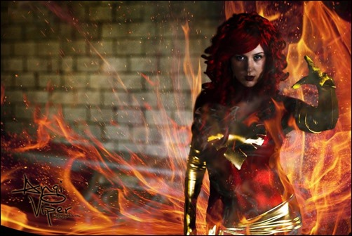 Angi Viper as Phoenix
