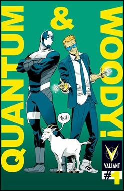 Quantum and Woody #1 Cover - Martin Variant