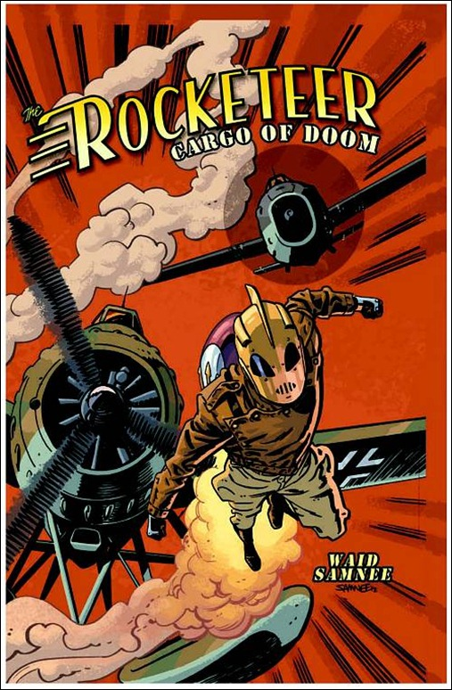 Rocketeer: Cargo of Doom HC Cover