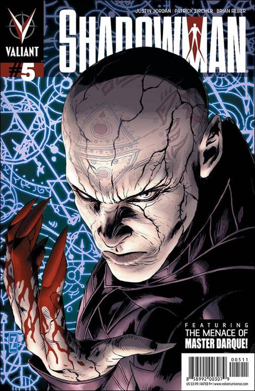 Shadowman #5 Cover - Zircher