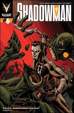 Shadowman #6 Cover - Johnson Variant