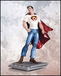 SUPERMAN: THE MAN OF STEEL BY RAGS MORALES STATUE