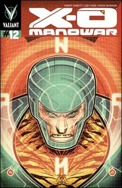 X-O Manowar #12 Cover - Doe Variant