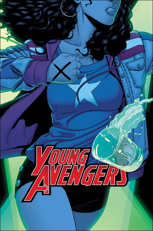 Young Avengers #3 Cover