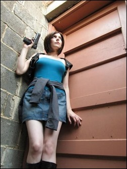 Chosplay as Jill Valentine