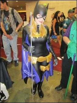 Chosplay as Batgirl