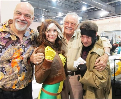Chosplay with George Perez & Stan Lee