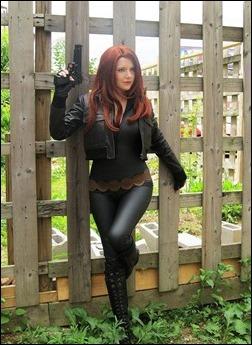 Chosplay as Black Widow