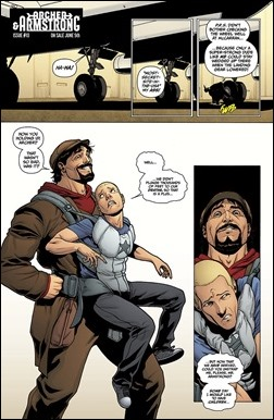 Archer & Armstrong #10 Preview 1