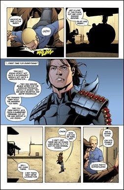 Archer & Armstrong #10 Preview 2