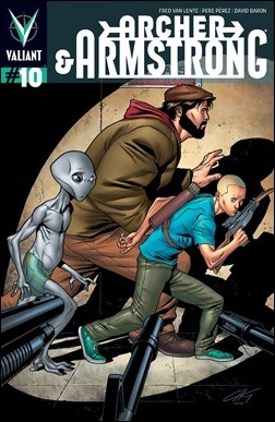 Archer & Armstrong #10 Cover