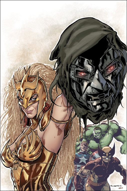 Fearless Defenders #4AU Cover