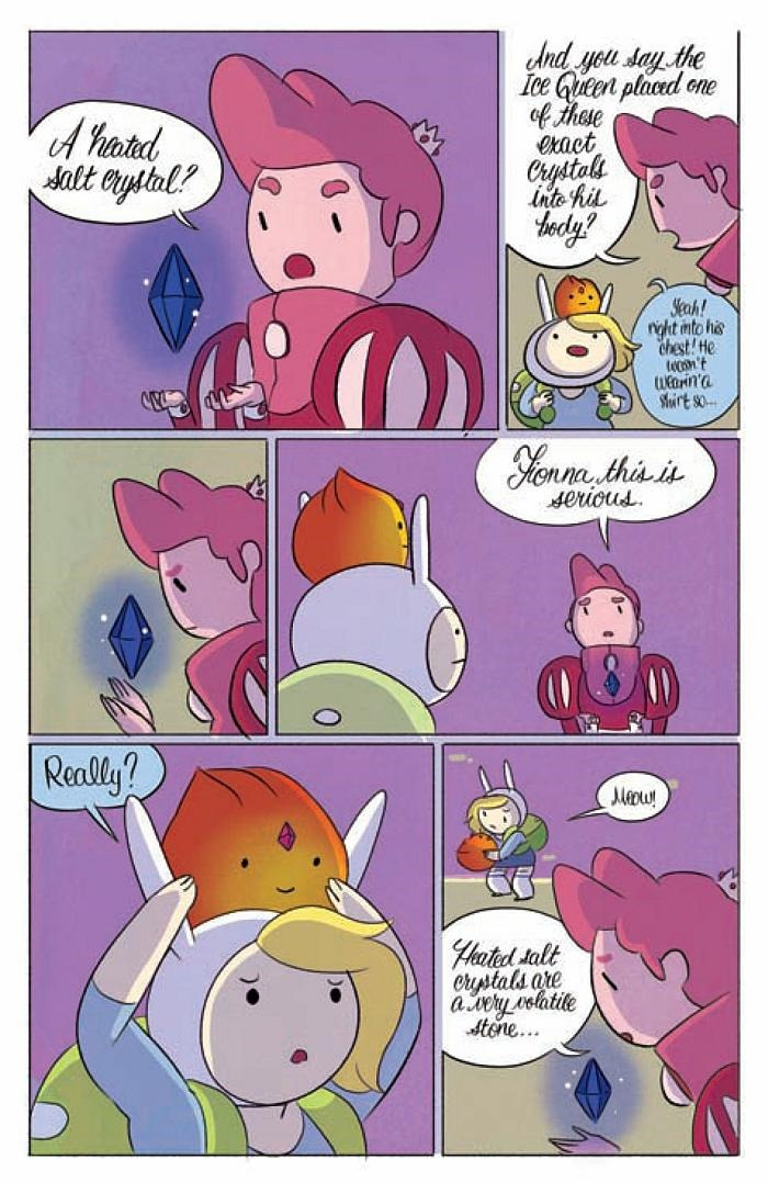 Adventure Time With Fionna And Cake Comic