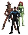 HUSH: SCARECROW, NIGHTWING & POISON IVY ACTION FIGURE 3-PACK