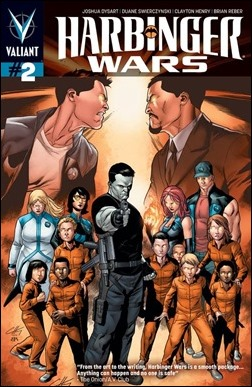 Harbinger Wars #2 Cover