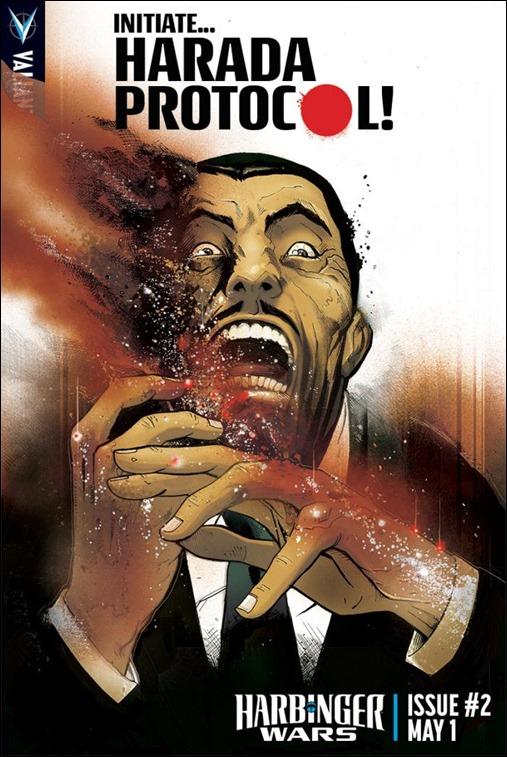 Harbinger Wars #2 Harada Protocol Cover