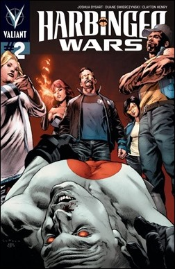 Harbinger Wars #2 Pullbox Cover - LaRosa
