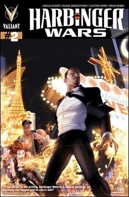 Harbinger Wars #2 Variant Cover - Crain