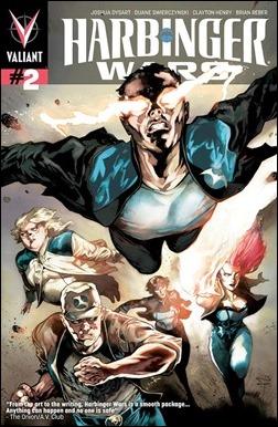 Harbinger Wars #2 Variant Cover - Perger