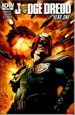 Judge Dredd: Year One #2 Cover