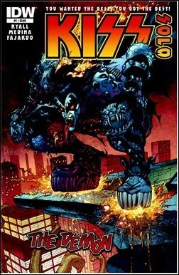 Kiss Solo: The Demon #1 Cover
