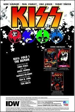 Kiss Solo: The Demon #1 Preview 1