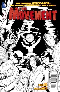 The Movement #1 Cover Variant