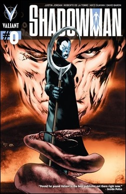 Shadowman #0 Cover - Pullbox Variant