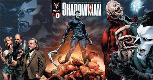 Shadowman #0 Cover - LaRosa Variant