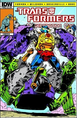 Transformers Regeneration One #90 Cover