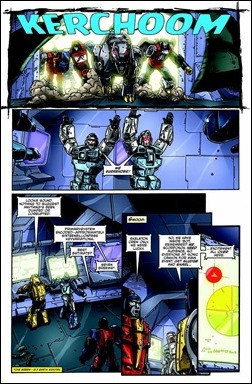 Transformers Regeneration One #90 Preview 8