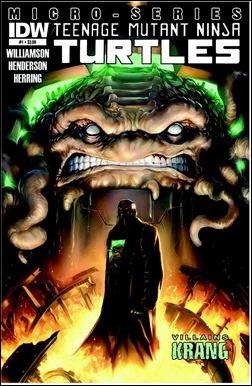 Teenage Mutant Ninja Turtles Villain Microseries #1 (of 4): Krang Cover