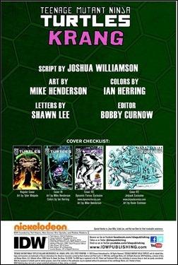 Teenage Mutant Ninja Turtles Villain Microseries #1 (of 4): Krang Preview 1