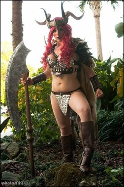 Alexia Jean Grey as Red Sonja