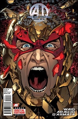 Age of Ultron #10A.I. Cover