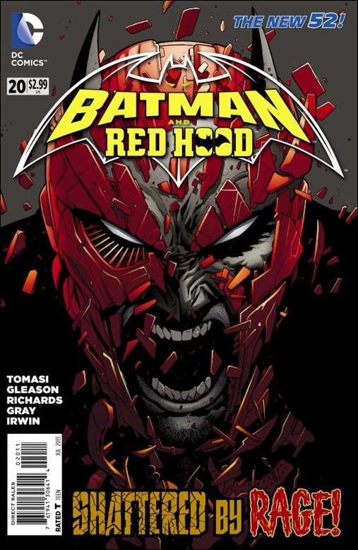 Batman and Red Hood #20 Cover