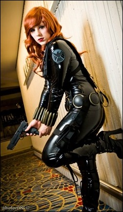 Alexia Jean Grey as Black Widow