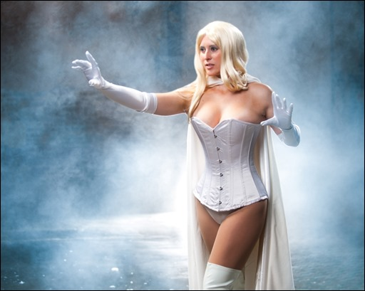 Emma Frost photo by Bryan Humphrey