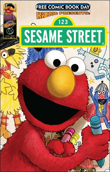 Sesame Street - Free Comic Book Day Edition