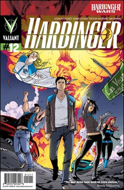 Harbinger #12 Cover