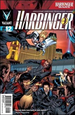 Harbinger #12 Variant Cover - Evans