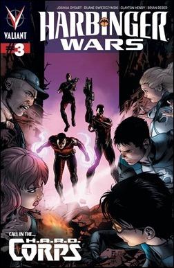 HARBINGER WARS #3 Cover