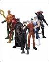 DC COMICS—THE NEW 52 SUPER HEROES VS. SUPER-VILLAINS ACTION FIGURE 7-PACK