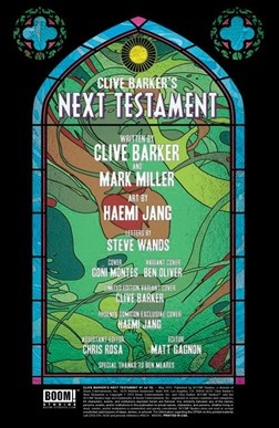 Clive Barker's Next Testament #1 Preview 2