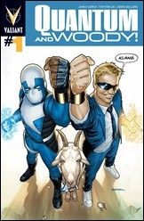 Quantum and Woody #1 Cover - Sook