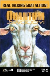 Quantum and Woody Goat QR Poster