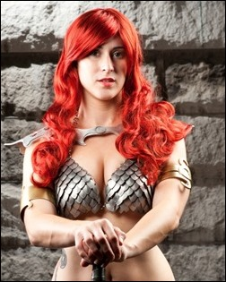 Red Sonja photo by Bryan Humphrey