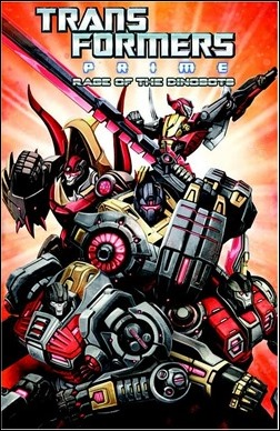 Transformers: Prime – Rage of the Dinobots Cover